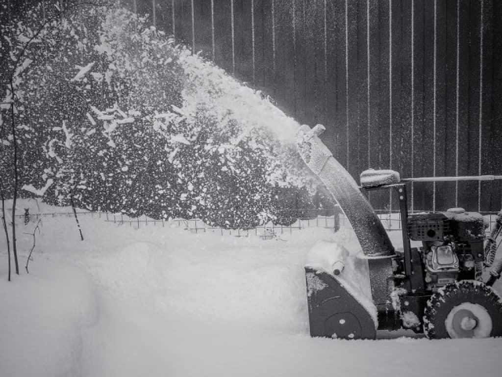 Spazza neve come funziona