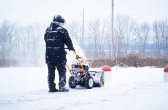 Spazzaneve e turbine da neve
